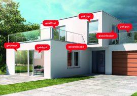 Passt perfekt ins Smart Home: Funksensor Roto Com-Tec