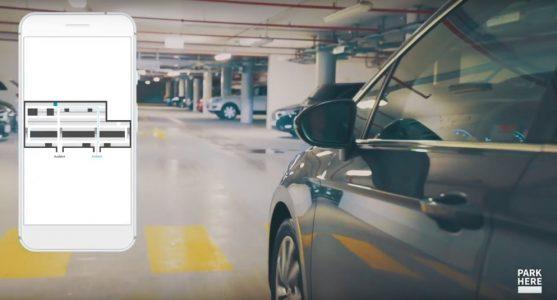 ParkHere Smart City - digital capacity utilization of parking spaces