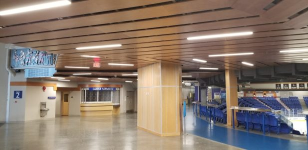 Echoflex Solutions liefert Premium-Beleuchtungslösung für das Langley Events Centre