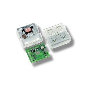 EnOcean Battery-free PTM switch module with NFC and security