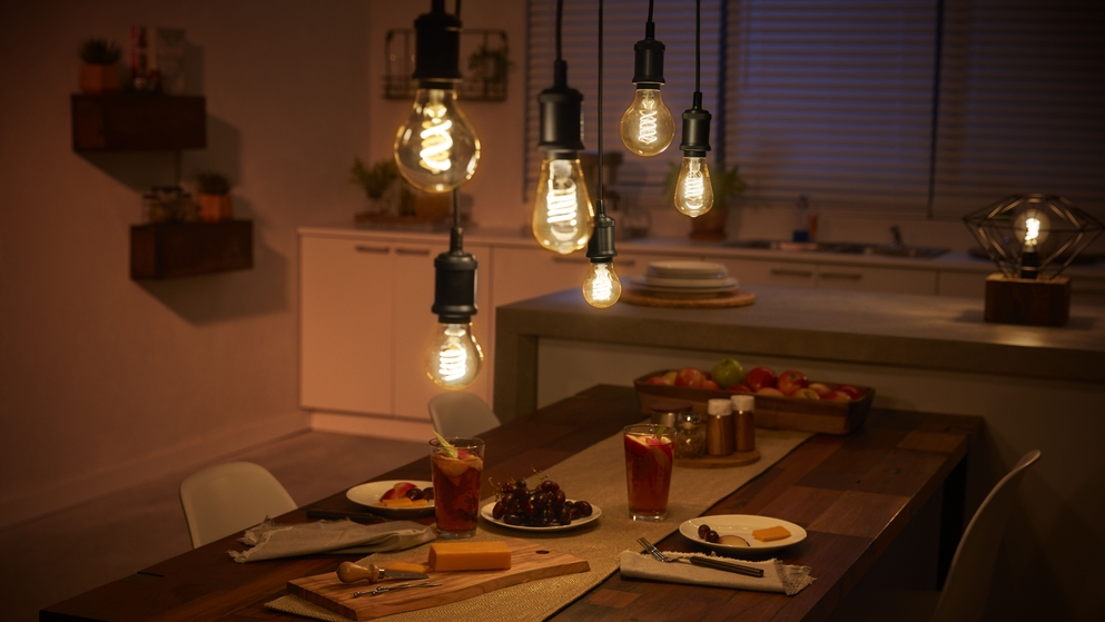 Signify Intelligente Beleuchtung per Knopfdruck