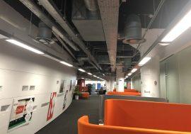 Moderne Lichtsteuerung für das IBM South Bank Studio in London