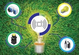 EnOcean-basierter Mikroschalter für industrielle Anwendungen
