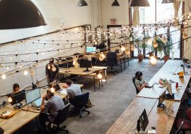 Smart spaces welcome employees back to work
