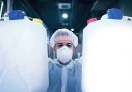 EnOcean-basierte Lösung verhindert Überlauf von Lösungsmittelresten