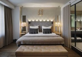 Lighting control panels for hotel rooms