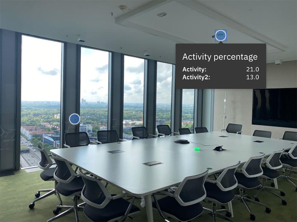 IBM Watson Center Munich with occupancy sensors