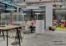 Die Digitalisierung des Büros – die Fläche lernt denken